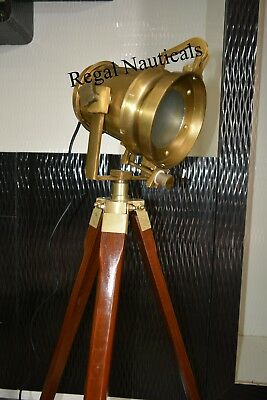 Spot Studio Tripod Floor Lamps And Lights Hand Made Antique Floor Searchlight