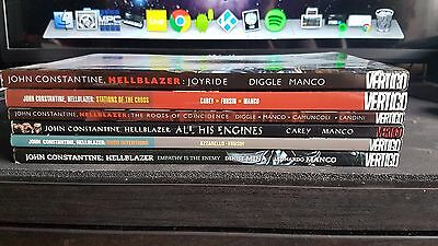 John Constantint Hellblazer 6 Graphic Novel bundle