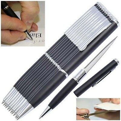 Elegant Executive Pen Knife Letter opener black FREE SHIPPING