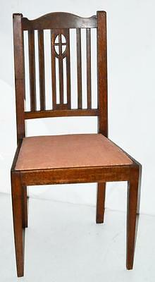 Antique English Oak Dinning Chair - FREE Shipping [PL3390R]