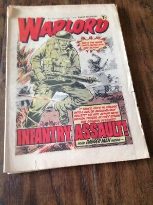 Warlord Comic No. 175 January 28th 1979