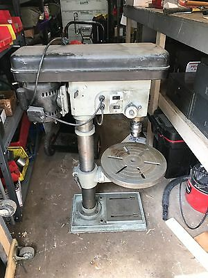 Manhattan MSC Industrial Drill Press Model 951220 16 Speed, Machinist, Mechanic