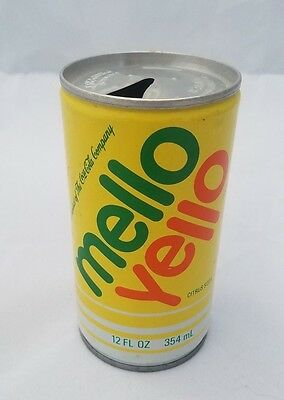 Vintage 'MELLO YELLO' Can by Coca Cola