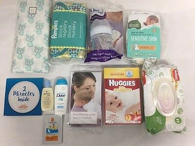 Baby Registry Samples Welcome Box , mom & Baby stuff , NEW