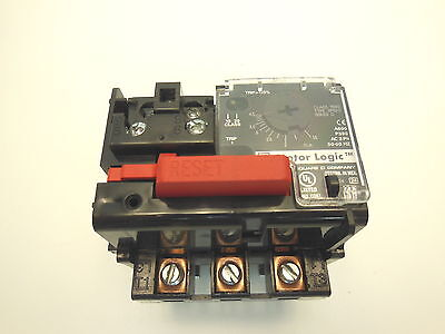 Square D Motor logic class 9065 type SFB20 series D Overload Relay
