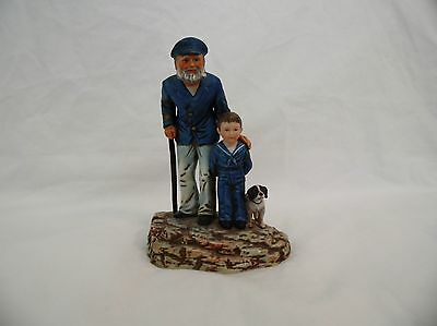 Norman Rockwell Looking Out to Sea Statue: Limited Edition # 1716/9500