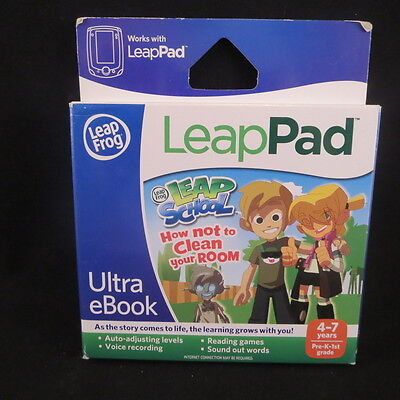LeapFrog Ultra eBook How Not to Clean Your Room LeapPad Tablets Age 4-7 NEW