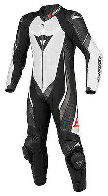 NEW Dainese Trickster EVO C2 Perforated Race Suit White/Black/Anthracite SIZE 56