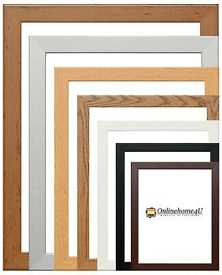 A1 A2 A3 A4 A5 Black Photo Frame White Frame Walnut Picture Frame All Colors(GB)