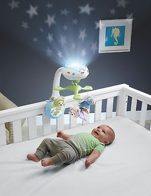 Babies Mobile Cot Projector With Butterfly Projection Fisher-Price Play Set
