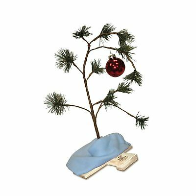ProductWorks 24-Inch Musical Peanuts Charlie Brown Christmas Tree with Linus ...