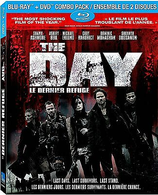 NEW BLU RAY - DVD / THE DAY - (w/ SLIPCOVER )Shawn Ashmore, Ashley Bell, Cory C.
