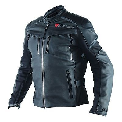 NEW Dainese Cruiser D-Dry Leather Jacket SIZE 54