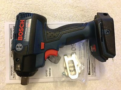 "New Bosch 18V IWBH182B 1/2"" EC Brushless 3 Speed Impact Wrench With Pin Detent"