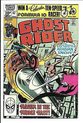 GHOST RIDER (Vol.1) # 62 (UK Pence Variant, NOV 1981), VF/NM