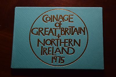 1975 The Coinage Of Great Britain And Northern Ireland Proof Coin Set