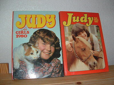 Judy For Girls Annuals 1980 & 1981