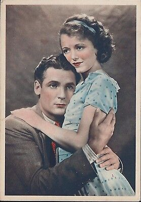 Godfrey Phillips Large postcard # 15 - Charles Farrell and Janet Gaynor - Movies