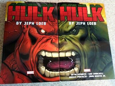 Hulk By Jeph Loeb :the Complete Collection Volumes 1 & 2  & Hulk Scorched Earth