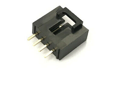 2543 2520 2.54mm 4-Pin Male LOCKED Dupont Connector Straight Header x 20 pcs