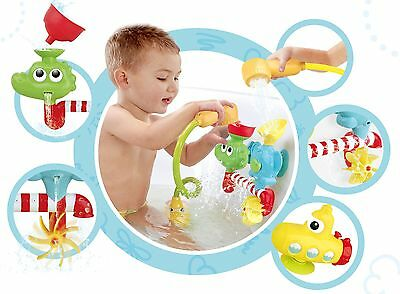 Amazing Hand Shower Squirting Bath Toy WITH Submarine Spray Station Water PUMP