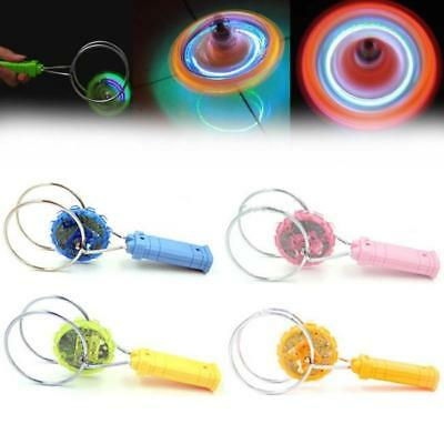 MAGNETIC LIGHT UP GYRO WHEEL -Kinetic Spinner LED Toy Kids Birthday PARTY GIFT C