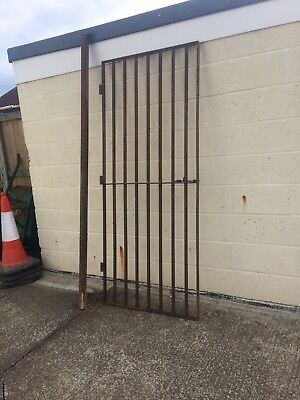 Heavy Duty Iron Security Gate And Post 2070 X 855mm