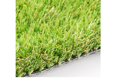 Artificial Grass Astro Turf Fake Lawn Realistic Outdoor Carpet - SUPER SOFT 25mm