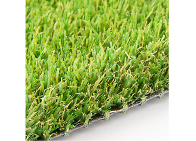 Artificial Grass Astro Turf Fake Lawn Realistic Outdoor Carpet Tri- RUFFORD 30MM