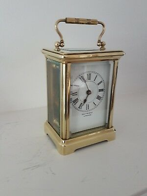 antique carraige clock Sefridge rare pretty