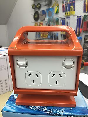 Heavy Duty 4 Outlet IP53 WEATHERPROOF Safety Switch & Double Pole on/off Switch