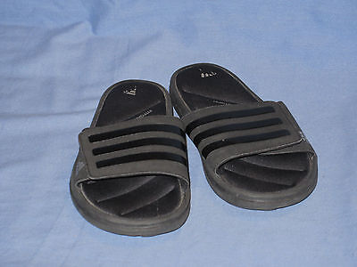 8f197b9da6105f MEN S ADIDAS FITFOAM Black Flip Flop Slide Sandals