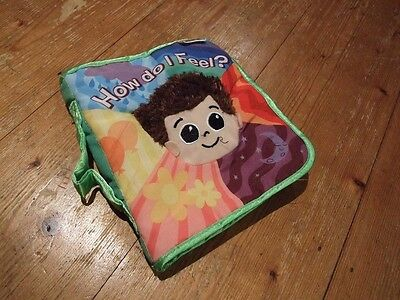 """LAMAZE"" SOFT BABY BOOK - How do I feel - Emotions Crinkly Tactile Touch Feel"