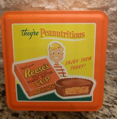 Reeses Peanut Butter Cups Vintage Inspired Tin