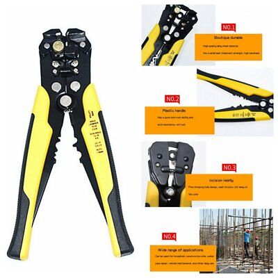Adjusting Stripper Cutter Tool Ultimate Wire And Cable Self Stripping Hand Tools