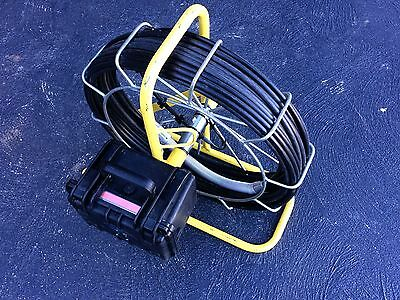 Sewer drain and slab inspection camera kit