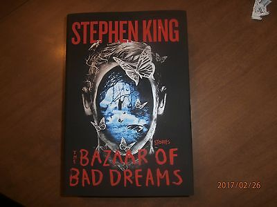 The Bazaar of Bad Dreams by Stephen King  Hardcover New