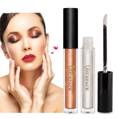 Makeup Gold Highlighter Liquid Cosmetic Face Contour Brightener Glow Shimmer New