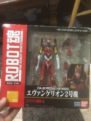 Bandai The Robot Spirits 052 EVA 02 Evangelion Ver. 2 Action Figure Offer