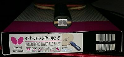 butterfly innerforce layer alc.s ST with 2 Tenergy 64 2.1 and original box