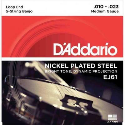 D\'addario Nickel Wound Banjo Strings 6313