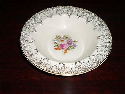 SET OF FIVE SWINNERTONS Staffordshire GOLDEN RHAPSODY 22KT GOLD Food BOWLS X 5