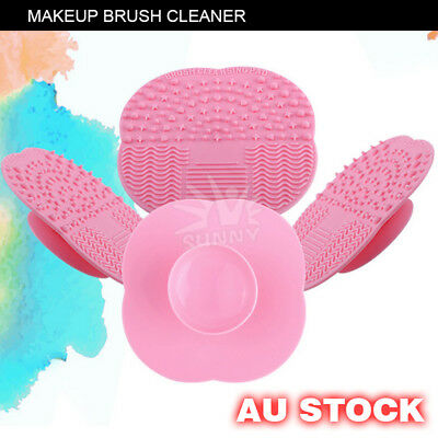 Scrubber Board Cleaning Mat Pad RYO Silicone Makeup Brush Cleaner Washing