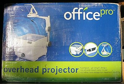 NEW OVERHEAD PROJECTOR OfficePro Bright, Sharp, Great for Art, Airbrushing