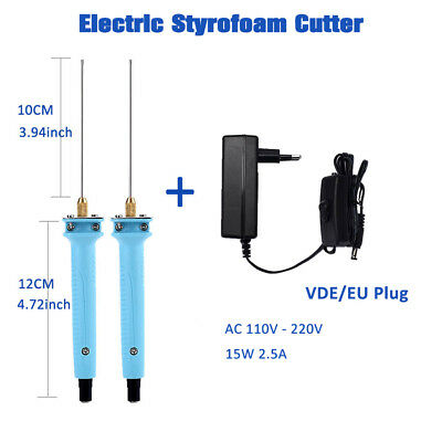 Electric Styrofoam Cutter Hot Wire Styro Foam Cutting Pen Knife Tool Pen Cutter
