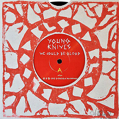 """The Young Knives - We Could Be Blood - New Numbered 7"""" Vinyl Single"""