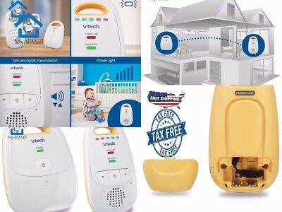Safe Sound Digital Audio Baby Monitor With One Parent Unit Battery Powered New