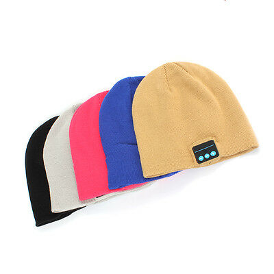 Outdoor Bluetooth Beanie Hat Wireless Headphone with Stereo Speakers and Mic