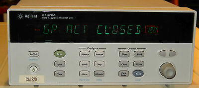 Agilent HP 34970A 34903A Data Acquisition Switch Unit with Relay Module Keysight