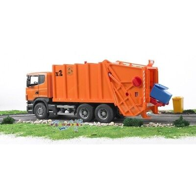Scania R-Series Garbage Truck (Orange) 3560 B10-3560 New!